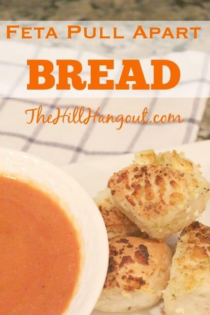 Feta Pull Apart Bread