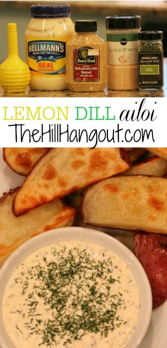 Lemon Dill Aioli